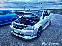 Vauxhall Corsa Club 16v semi road/track