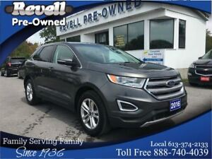 2016 Ford Edge SEL AWD  *Moonroof  Leather  Nav  Re-starter