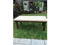 7 foot by 3 foot garden table