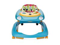 Chicco musical baby walker blue
