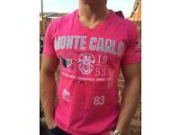 T shirt Geograffick norway Pink colour size M