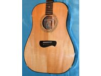 Acoustic Guitar (Tacoma DM28) & Fishman Rear Earth Pick up Sysytem