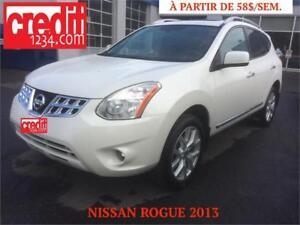 2013 Nissan Rogue S, à partir de 58$/semaine.100% approuvé !