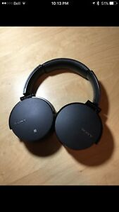 Sony bass boost headphones