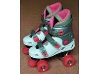 SFR California Girls Quad Roller Skates UK Size 3 (EUR 35)
