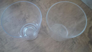 2 for $ 9 Clear New Baskets - for sale !