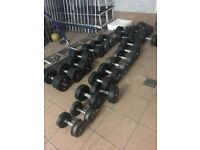 Startrac commercial grade gym dumbells range of weights