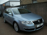 08 58 VOLKSWAGEN PASSAT 2.0 TDI HIGHLINE TURBO DIESEL ESTATE 5DR HEATED LEATHER