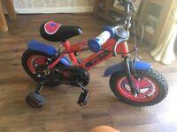 Spider man 12' bike