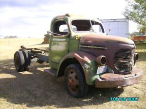 Looking for 40's to late 50's trucks