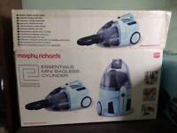 Morphy Richards mini bagless cylinder hoover