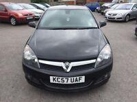 Vauxhall Astra 1.9 CDTi 16v SRi Sport Hatch 3dr 2007 (57 reg), Hatchback (30days warranty) £1799