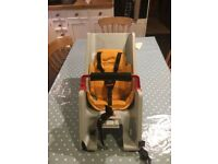 CoPilot child's Bike Seat used in full working order with all original straps as purchased