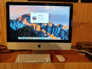 "late 2013 21.5"" iMac 2.8Ghz, 1GB Graphics, 8GB RAM, 1TB hard dri"