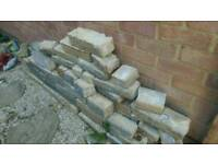 Garden wall bricks