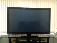 """PANASONIC VIERA 50"""" LCD TV HD READY BUILT IN FREEVIEW EXCELLENT CONDITION"""