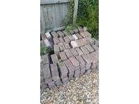 Over 900 reconstituted concrete bricks