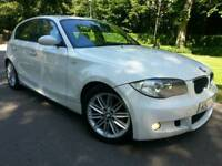 BMW 118D M SPORT*2008*5-DR*LADY OWNED*FSH*LEATHERS*E-PACK*R.TAX-£30+CHEAP INSURANCE*SUPERB CONDN*