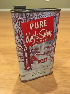 Pure Maple Syrup Tin