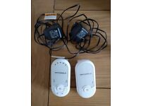 Motorola baby monitor, sound only, like new