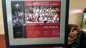 2002 Team Canada World Olympic gold medal Champions picture
