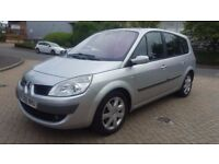 7 SEATER 2008 RENAULT GRAND SCENIC DIESEL IN CLEAN CONDITION. 1 YEAR MOT. 2 OWNERS. 2 KEYS. SUNROOF
