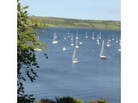 Mylor Bridge - stunning 2 bed waterfront flat - winter let