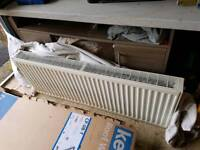 Double bank radiator