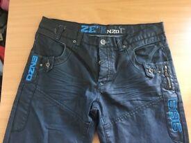 Enzo size 36 dark navy blue jeans