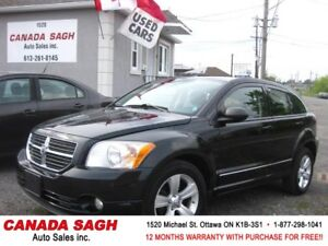 2011 DODGE CALIBER SXT, AUTO/AC/RIMS 121km!12M.WRTY+SAFETY $6490