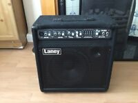 Laney keyboard amplifier. Used, 6 months old. 5 band graphic equaliser.