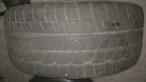 3 Cooper Zeon rs3 a tires P235/45R17