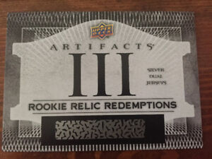 Max Domi Rookie Relic Redemption Hockey Card