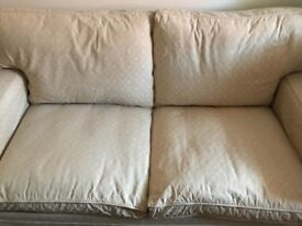 Laura Ashley sprung base sofa bed good clean condition loose covers