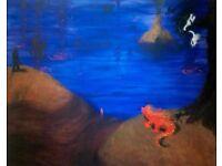 Original canvas painting 1m x 1.2m