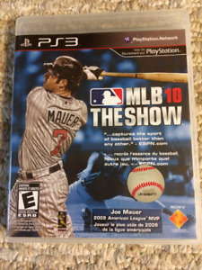 PS3 Game: MLB 10: The Show