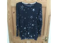 Yours Clothing star jumper