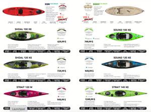 Kayaks Rigide et Gonflable Pelican/Pelican Premium/Hobie