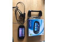 PlayStation Vita (1003) on 3.65 firmware.