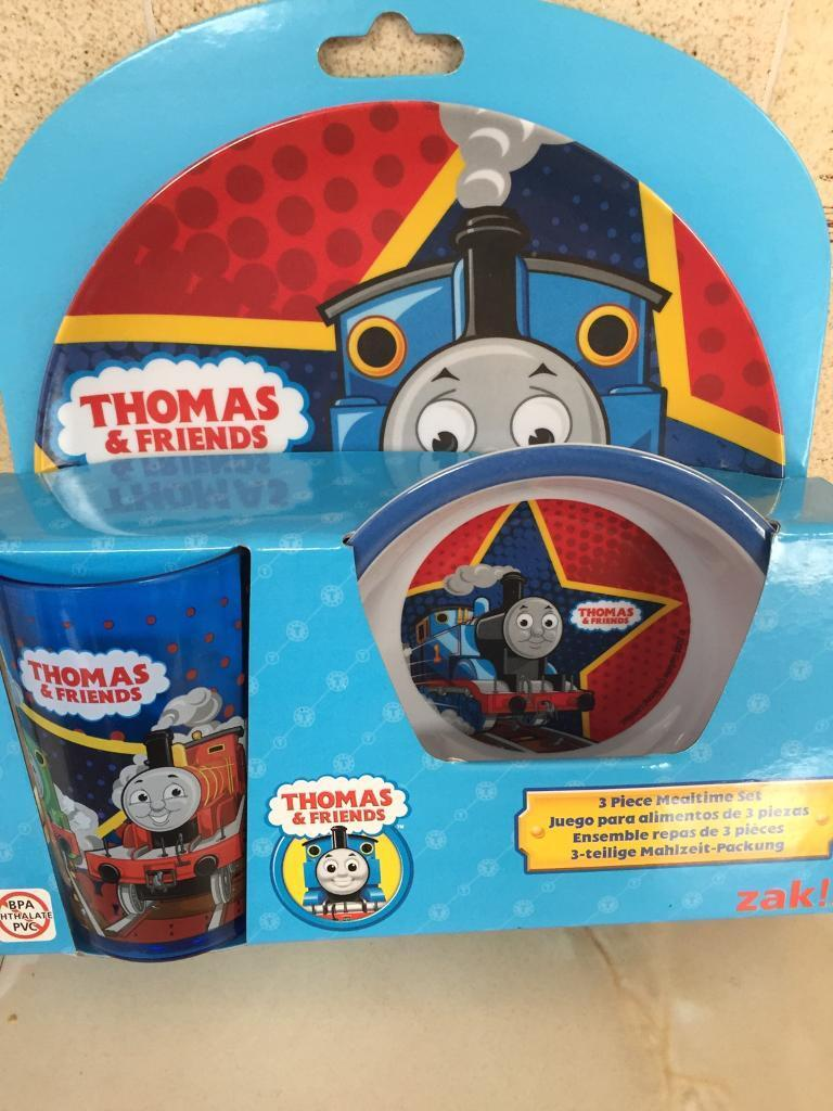 Thomas The Tankin Swindon, WiltshireGumtree - Three piece mealtime set in brand new condition with plate bowl and cup