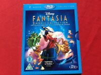 Disney's Fantasia & Fantasia 2000 2 Movie Collection (Blu-ray)