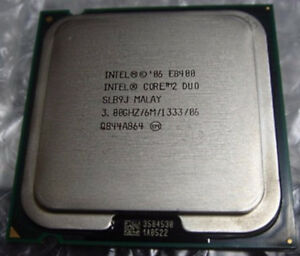 Intel Core 2 Duo E8400 3.0 GHz CPU Processor LGA775 -