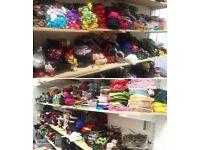 Joblot 100 Pieces Brand New Girls/Teens/Womens Hair Accessories Hairbands Hair Bows Clips