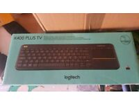 K400 plus wireless keyboard for Pc and smart tv £15 RRP £35