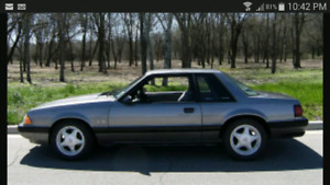 WANTED MUSTANG LX COUPE 87-93