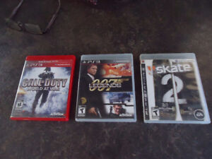 3 PS3 Games, $10. each