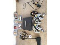 Nintendo 64 N64 console and games