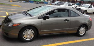 2008 Honda Civic DX Coupe (2 door) - Awesome value!