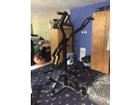 Body Solid Arm Curl and PowerTec lat pulldown
