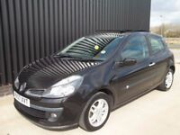 2007 Renault Clio 1.4 16v Dynamique 3dr 2 Keys 12 Months MOT 28 Days Warranty Free MOT For Life*